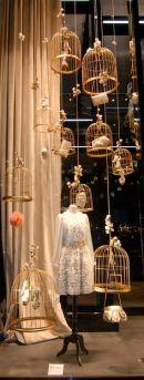 cages à oiseaux suspendus