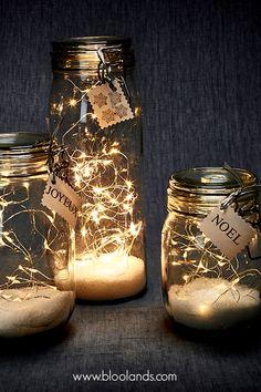 pots de lumières