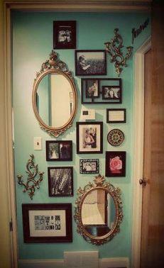 patchwork miroirs et cadres