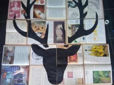composition vitrine librairie