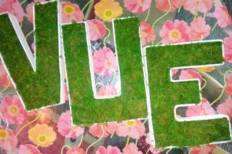 création lettres 3D