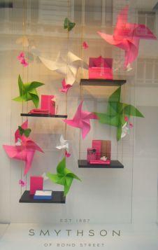 vitrine origami