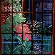 vitrine peinte