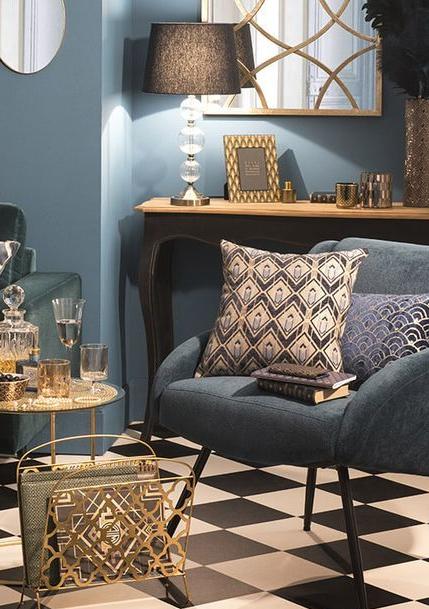 interieur tendance deco 2019 salon. Black Bedroom Furniture Sets. Home Design Ideas